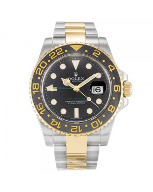 Fake Rolex GMT Master II Black 116713