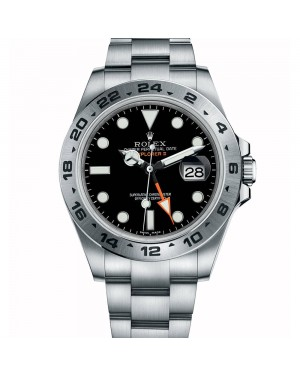 Fake Rolex Explorer II Black 42mm 216570BKSO