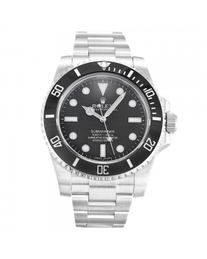 Fake Rolex Submariner Black Dial 114060