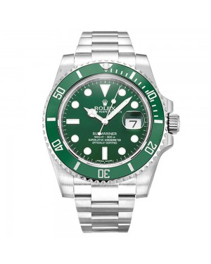 Fake Rolex Submariner Green Dial 116610LV