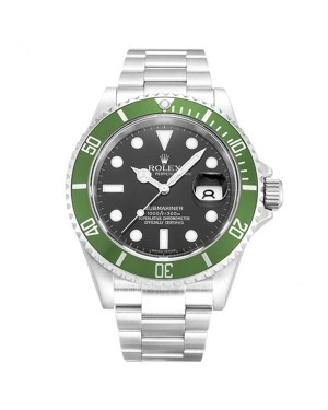 Fake Rolex Submariner Black Dial 16610LV