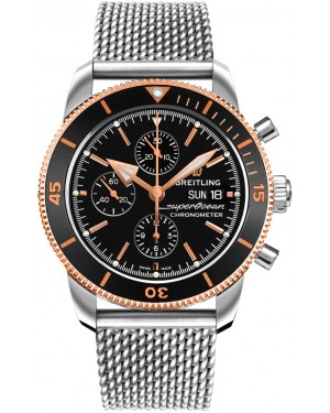 Replica Breitling Superocean Héritage II Chronograph 44 Steel Mens Watch U13313121B1A1