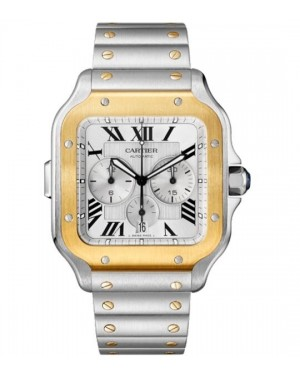 Fake Cartier Santos De Cartier XL Chronograph Watch W2SA0008