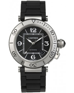 Fake Cartier Pasha Seatimer Automatic W31077U2