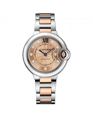Fake Cartier Ballon Bleu De Cartier 33mm WE902053