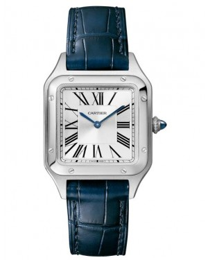 Fake Cartier Santos Dumont Small Ladies Watch WSSA0023