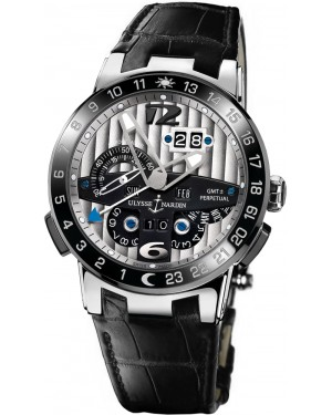 Fake Ulysse Nardin El Toro GMT +/- Perpetual Calendar 43mm Watch 329-00