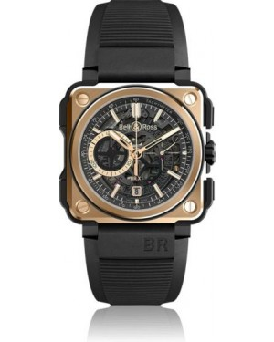 Fake Bell & Ross BR-X1 Rose Gold & Ceramic BRX1-CE-PG