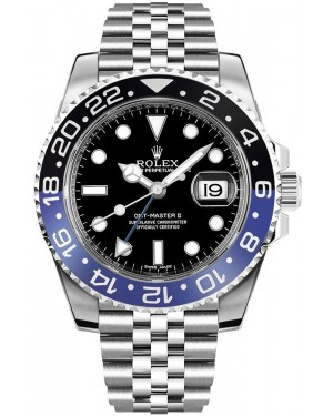 Fake Rolex GMT-Master II Watch m126710blnr-0002