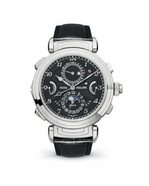 Fake Patek Philippe Complications White Gold Mens Watch 6300G-001