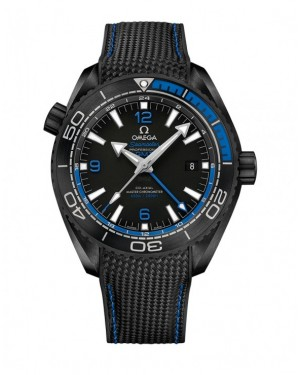 Fake Omega Seamaster Planet Ocean 600M Deep Black 215.92.46.22.01.002
