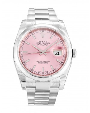 Fake Rolex Datejust Pink Dial 116200