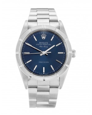 Fake Rolex Air-King Blue Dial 14010M