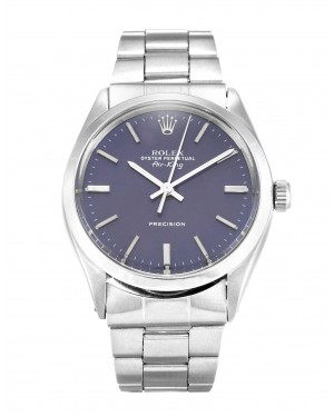 Fake Rolex Air-King Blue Dial 5500