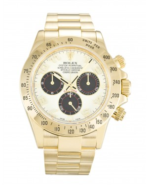 Fake Rolex Daytona White Arabic 116528