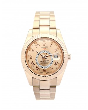 Fake Rolex Sky-Dweller Rose Gold 326938