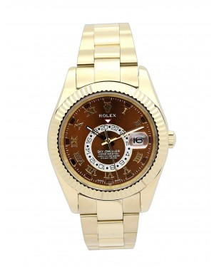 Fake Rolex Sky-Dweller Yellow Gold 326938