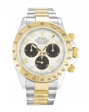 Fake Rolex Daytona White Arabic 116523