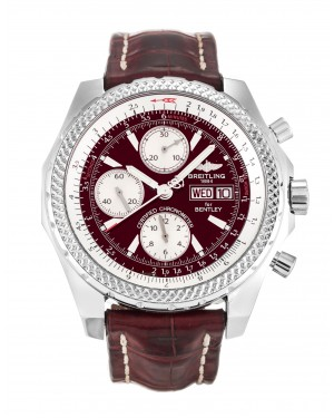 Fake Breitling Bentley GT Burgundy Watch A13362