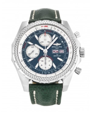 Fake Breitling Bentley GT Green Leather Watch A13362