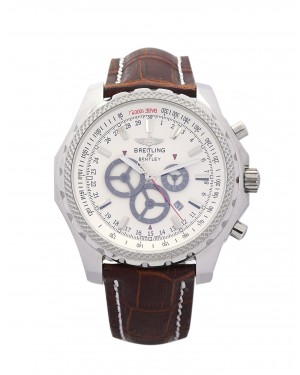 Fake Breitling Bentley GT White Dial Watch A13362