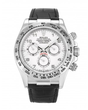 Fake Rolex Daytona White Arabic 116519
