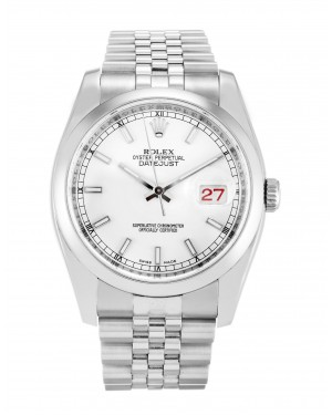 Fake Rolex Datejust White Dial 116200