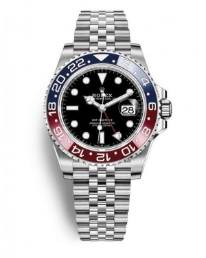 Fake Rolex GMT-Master II Steel 40 mm 126710BLRO-0001