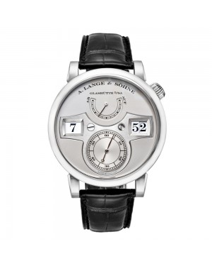 Fake A.Lange & Sohne Zeitwerk Platinum Watch 140.025