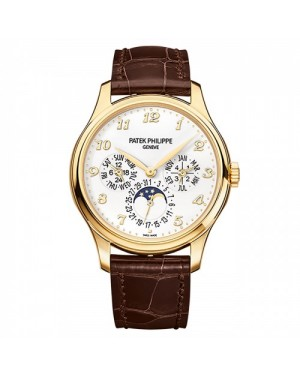 Fake Patek Philippe Grand Complications Yellow Gold Mens Watch 5327J-001