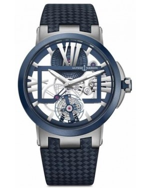 Fake Ulysse Nardin Executive Dual Time Flying Tourbillon 1713-139/43