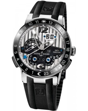 Fake Ulysse Nardin El Toro GMT +/- Perpetual Calendar 43mm Watch 329-00-3