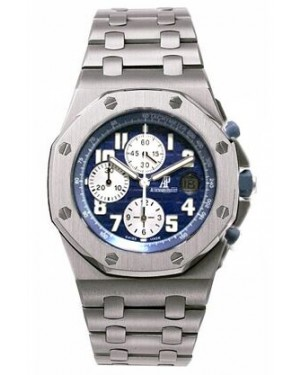 Fake Audemars Piguet Royal Oak Offshore Chronograph Watch 25721ST.OO.1000ST.09