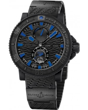 Fake Ulysse Nardin Maxi Marine Diver Black Sea Watch 263-92-3C-923