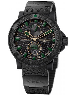 Fake Ulysse Nardin Maxi Marine Diver Black Sea Watch 263-92LE-3C-928