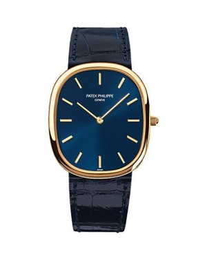 Fake Patek Philippe Golden Ellipse Yellow Gold Mens Watch 3738/100J-012