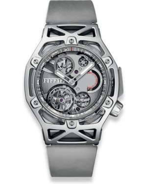 Fake Hublot Techframe Ferrari Tourbillon Chronograph Sapphire White Gold 408.JW.0123.RX