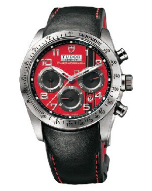 Fake Tudor Fastrider Ducati Red Dial Chronograph 42000D
