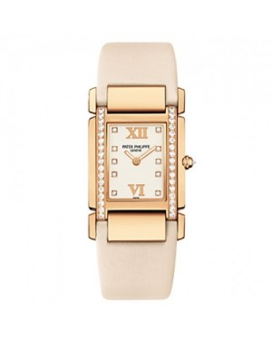 Fake Patek Philippe Twenty~4 Rose Gold Ladies Watch 4920R-010