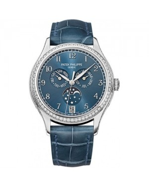 Fake Patek Philippe Complications White Gold Ladies Watch 4947G-001