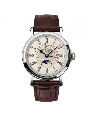 Fake Patek Philippe Perpetual Calendar Mens Watch 5159G-001