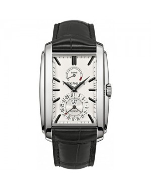 Fake Patek Philippe Gondolo White Gold Mens Watch 5200G-010