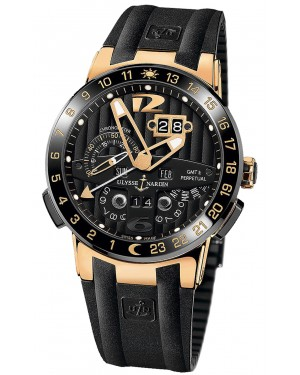 Fake Ulysse Nardin El Toro GMT +/- Perpetual Calendar 43mm Watch 326-03-3
