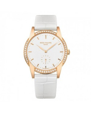 Fake Patek Philippe Calatrava Rose Gold Ladies Watch 7122/200R-001