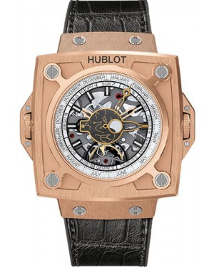 Fake Hublot MP-08 Antikythera Sunmoon King Gold 908.OX.1010.GR