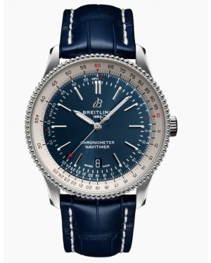 Fake Breitling Navitimer Automatic 41 Steel Blue Watch A17326211C1P3
