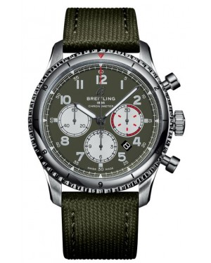 Fake Breitling Aviator 8 B01 Chronograph 43 Watch AB01192A1L1X2