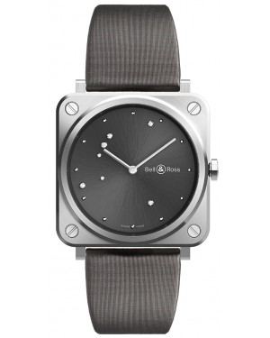 Replica Bell & Ross BRS Grey Diamond Eagle Watch BRS-ERU-ST/SCA