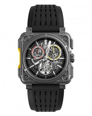 Replica Bell & Ross BR-X1 Tourbillon RS18 Renault Sport Titanium Mens Watch BRX1-CHTB-RS18