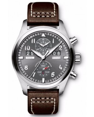 Fake IWC Pilot's Perpetual Calendar Digital Date-Month Spitfire Watch IW379108